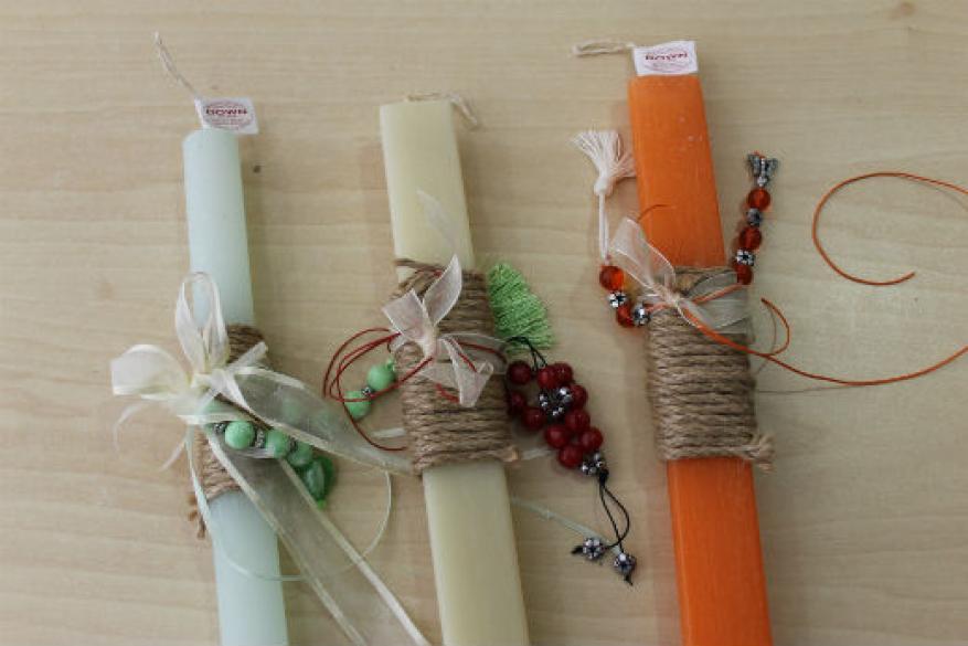 Κατασκευές & λαμπάδες για την Πασχαλινή Αγορά (2017)