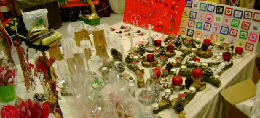 Κατασκευές για το Χριστουγεννιάτικο Bazaar (2010)