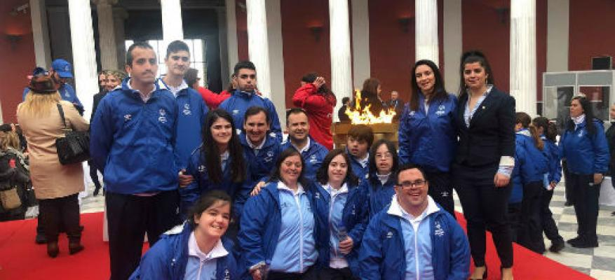 Τελετή αφής φλόγας της ελπίδας Special Olympics